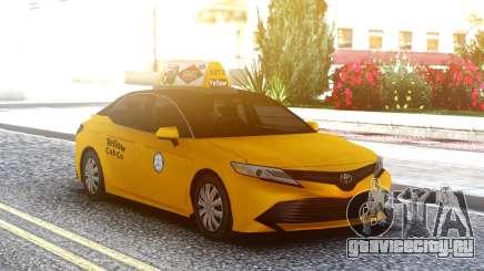 Toyota Camry Hybrid 2018 LQ Taxi для GTA San Andreas