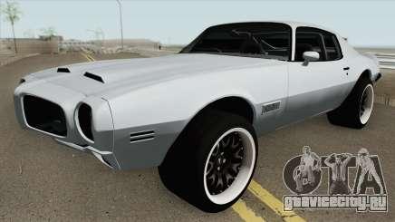 Pontiac Firebird RHD 1970 для GTA San Andreas