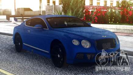 Bentley Continental Sport Blue для GTA San Andreas