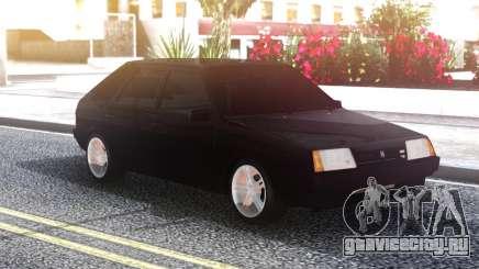 ВАЗ 2109 Тонированный Черный для GTA San Andreas