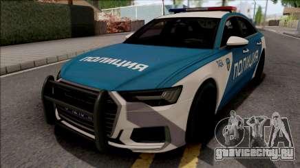 Audi A6 C8 2019 Russian Police для GTA San Andreas