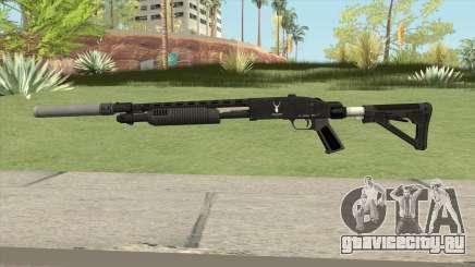 Shrewsbury Pump Shotgun GTA V V5 для GTA San Andreas