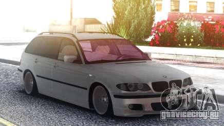 BMW 330XD Е46 2001г. 3л. дизель универсал для GTA San Andreas