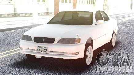 Toyota Cresta JZX100 Stock White для GTA San Andreas