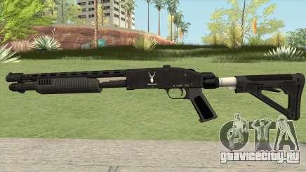 Shrewsbury Pump Shotgun GTA V V4 для GTA San Andreas