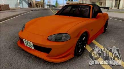 Mazda MX-5 Miata NB8c Initial D Fifth Stage для GTA San Andreas