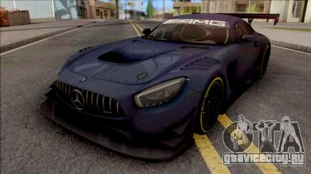 Mercedes-AMG GT3 2015 Paint Job Preset 1 для GTA San Andreas