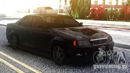 Toyota Chaser Sedan Black для GTA San Andreas