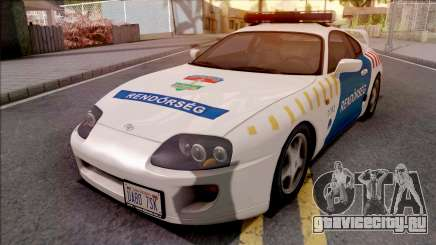 Toyota Supra Magyar Rendorseg для GTA San Andreas