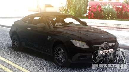 Mercedes-Benz C63S Coupe BRABUS для GTA San Andreas