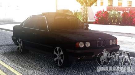 BMW 535 Black Original Sedan для GTA San Andreas