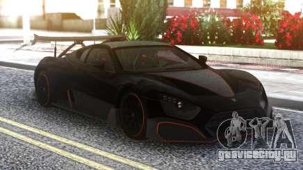 Zenvo TSRS 19 для GTA San Andreas