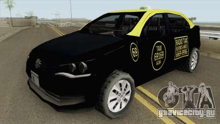 Volkswagen Voyage G6 Taxi Buenos Aires для GTA San Andreas
