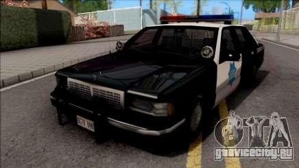 Chevrolet Caprice 1992 Police SFPD SA Style для GTA San Andreas