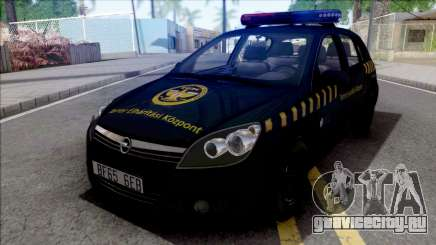 Opel Astra H Terror Elharitasi Kozpont для GTA San Andreas
