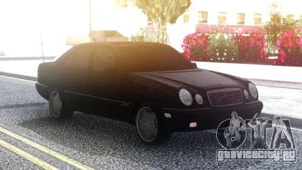 Mercedes-Benz E420 Classic Black для GTA San Andreas