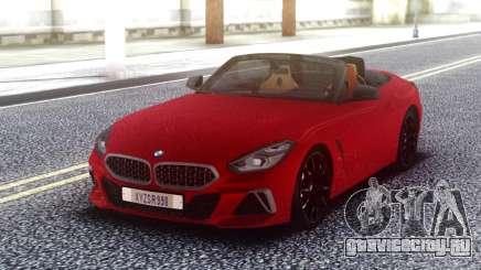 BMW Z4 Red Cabrio для GTA San Andreas