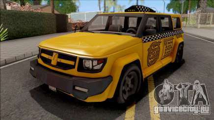 Saints Row IV Steer Taxi IVF для GTA San Andreas