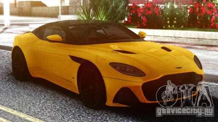 Aston Martin DBS Supperleggera 2019 для GTA San Andreas