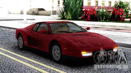 1987 Ferrari Testarossa US-Spec для GTA San Andreas