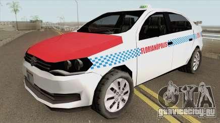 Volkswagen Voyage G6 Taxi Florianopolis для GTA San Andreas
