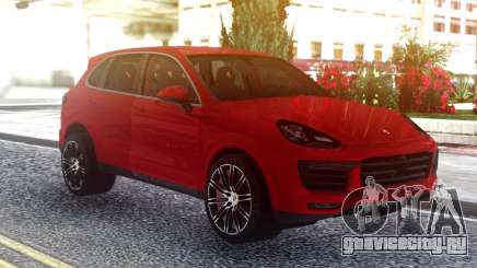 Porsche Cayenne Turbo S Red Original для GTA San Andreas