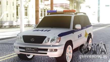 Lexus LX470 ВАИ для GTA San Andreas