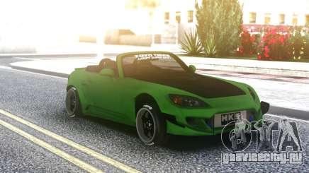 Honda S2000 Cabrio Green для GTA San Andreas