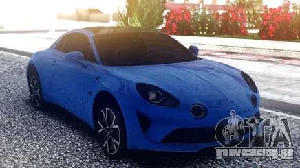 Renault Alpine A100 для GTA San Andreas