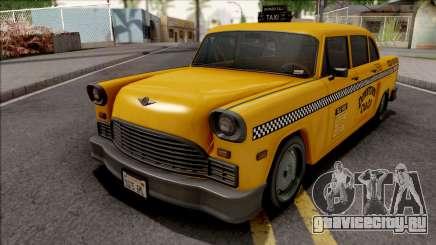 GTA III Declasse Cabbie IVF Style для GTA San Andreas