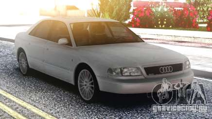 Audi A8 White Original для GTA San Andreas