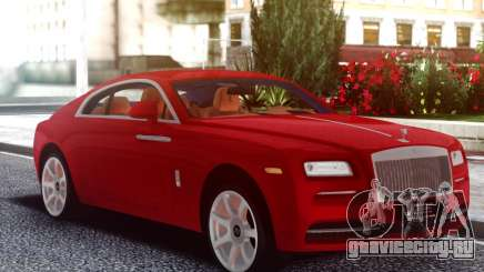 Rolls-Royce Wraith Red Coupe для GTA San Andreas