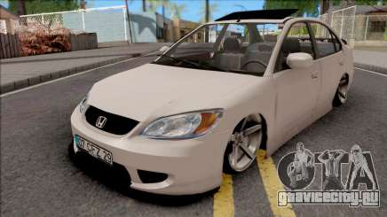 Honda Civic White для GTA San Andreas