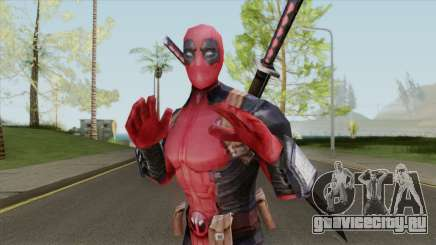 Deadpool From Marvel Super Wars для GTA San Andreas