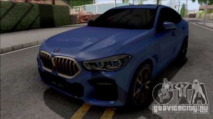 BMW X6 M50i 2020 для GTA San Andreas