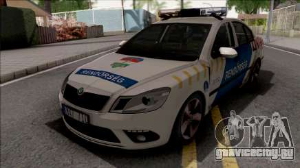 Skoda Octavia MK2 Facelift Magyar Rendorseg для GTA San Andreas