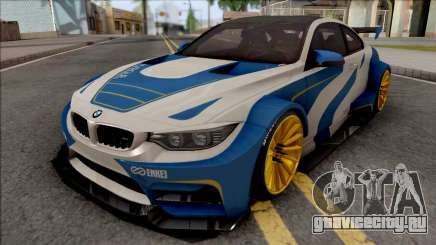 BMW M4 F82 2015 Raijin Kit для GTA San Andreas