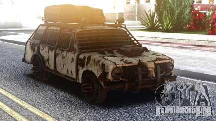 ВАЗ 2102 Постапокалипсис для GTA San Andreas