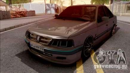 Peugeot Pars Grey для GTA San Andreas