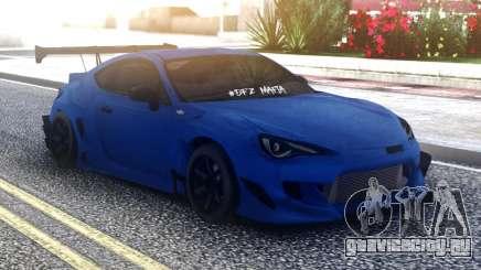 Toyota GT86 Blue для GTA San Andreas