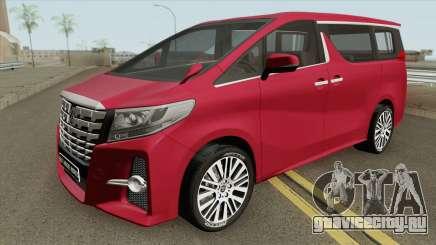 Toyota Alphard 2015 для GTA San Andreas