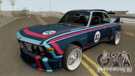 BMW 3.0 CSL 1975 (Blue) для GTA San Andreas