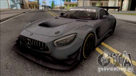 Mercedes-AMG GT3 2015 Paint Job Preset 2 для GTA San Andreas