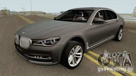 BMW 7-Series Design Pure для GTA San Andreas