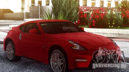 Nissan 370Z Original Red для GTA San Andreas
