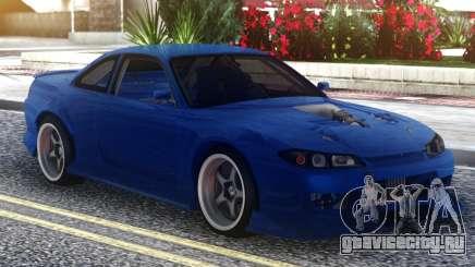 Nissan Silvia S15 Blue для GTA San Andreas