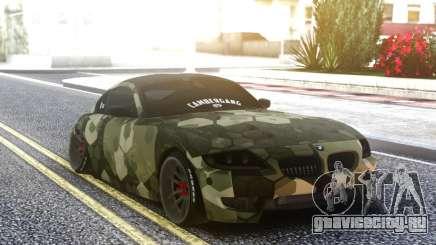 BMW Z4 Camo для GTA San Andreas