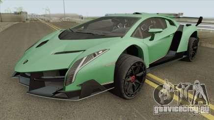 Lamborghini Veneno HQ 2013 для GTA San Andreas