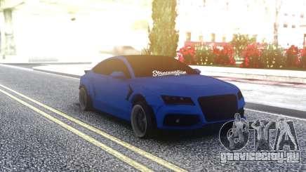 Audi RS7 Sportback Blue для GTA San Andreas