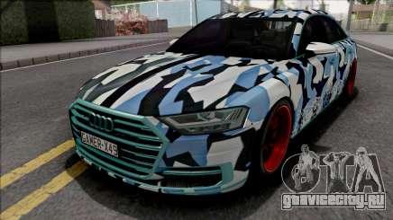 Audi A8 2018 Custom для GTA San Andreas